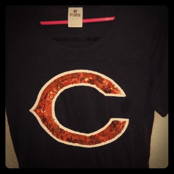 chicago bears sequin shirt